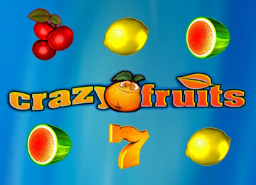 Играть в онлайн автомат Crazy Fruits в казино Адмирал 777